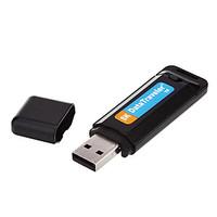 Mini USB Hidden Digital Audio Voice Recorder Flash Drive Micro SD Card Reader SK1(Blue)