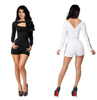2014 for free ship the sexy fashion black or white   print clothes