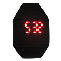 2014 Girls / Boys LED Watch Ultra-thin Design jelly Woman wristwatch Digital LED Watch Electronic Silicone Strap Fashion watches