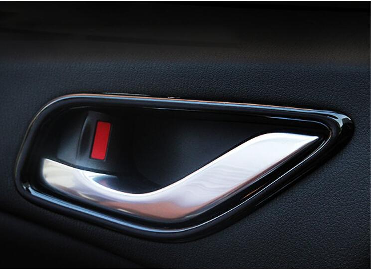 piano paint car interior door handle trim bowel cover trims for mazda. Black Bedroom Furniture Sets. Home Design Ideas