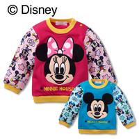 New Design 10pcs/lot Cotton Children long-sleeve Sweatshirts Cartoon Kids sport Shirts,Baby Clothes