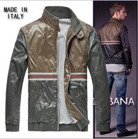 Free shipping 2014 New Brand Man coats Spring Autumn Jacket Sport Sportswear Clothes Waterproof Windbreaker man leisure coat