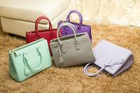 Hot hight quality Fashion famous brand name pra shoulder purses bags for women 100% genuine leather designers women handbags P74