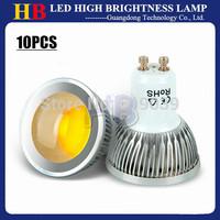 10x High Power 9W 12W 15W Dimmable GU10 GU5.3 E27 E14 B22 COB LED Light bulb White/Warm/Cool White AC/110V 220V lamp 120 degree