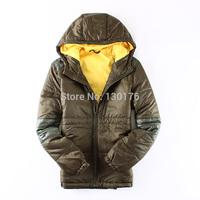 """2014 Hot Sale Regular For Calvin"""""""" Men Winter New Men's Lightweight Cotton Padded Jacket On The Department Of Korean Hooded"""