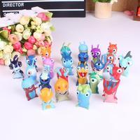 Anime Mini Slugterra Puppets PVC Action Figures Toys Cartoon Dolls Kids Toys 24pcs/set