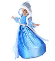 2014 Elsa & Anna Summer Dress For Girl Hot Princess Dresses Brand Children Clothing 3-8T