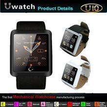 2014 Newest 1.54 Inch U10 U Smart Watch Waterproof Anti-lost Bluetooth Smart Android Watch ForiPhone/SamsungHTC Smartphones