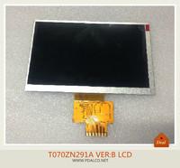 Original New 7inch 50p T070ZN291A VER: B display LCD screen  free shipping