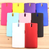 1pc For one plus one hard pc protective cover case  high quality cover case for One plus one 9 colors free shipping
