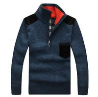New Fashion Male Casual Knitwear Pullovers Autumn Winter Men's Long Sleeve Knitted Warm Sweaters Plus Size M-XXXL 30161