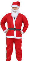 Santa Claus Costume Christmas Clothes Set Adult Backpack Father Party Suit X'mas Clothes XD13