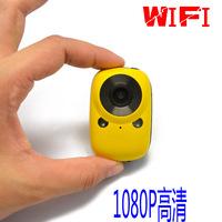Outside sport camera ultra-small wireless camera wifi 1080p hd wide-angle waterproof mobile phone remote control
