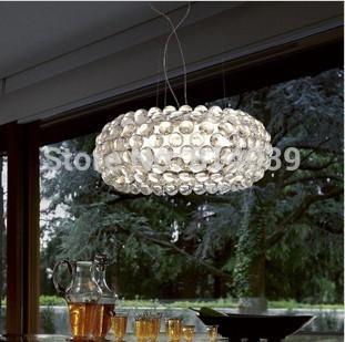 New Bedroom Acrylic Kitchen House 50cm Foscarini Caboche Ball Pendant Lamp chandeliers and pendants(China (Mainland))