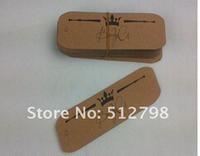 custom made printed tag/ kraft paper/custom shaped tag  free shipping
