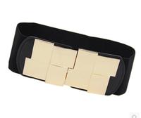 European style new winter elastic girdle mirror,wide belt,wide belt leather women,women's belts