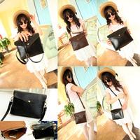 PU Leather Shoulder Bags Satchel Clutch Womens Handbag   Girl Messenger