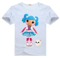 Lalaloopsy vision2  Tee t shirt for toddler kids children  Boy Girl t shirt cartoon t-shirt