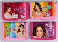 NEW HOT 12pcs Violetta Coin Purses Mini Wallets Mix Lots Girls Children Kid Gift Fashion Wholesale