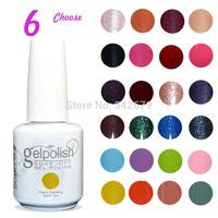 (Choose 4 Color+1 Base+1 Top)DOMCCO Gel Polish Soak Off Nail Gel UV 30 Days Long Lasting Gorgeous Colors The Best Gel Polish