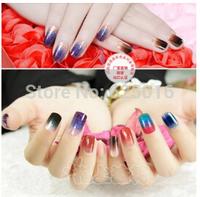 Hot Fashion Nail Art Transfer Foil Nail Sticker Tip Decoration Easy DIY Nail Sticker Decal For DIY  Gel Polish Nail