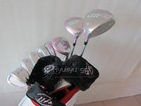 Women golf Golf Clubs set women's efil 1#Driver+4wood+5UT+irons(6-9PS) 6PCS + Putter woodclubs HeadCover(No bag)