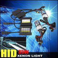 HID bixenon xenon kit light beam slim ballast 35w 12v Car lamp Bulb H1 H3 H7 H8 H9 H10 9005 9006 4300K 5000K 6000K 8000K 10000K