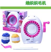 Scarf diy handmade knitted yarn machine girl toys wool woven cloth machine child gift