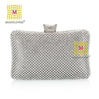 Free Shipping 2014 Hot Sales 2014 Day Cutches Bridal Party Handbags Chain Fashion Pearl Clutch Evening Bag 1970