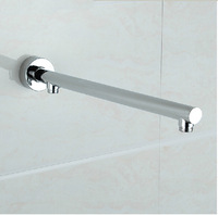 Hot Sale Wholesale And Retail Promotion Wall Mounted Bathroom Shower Arm Round Style Bathroom Chrome Shower Arm