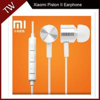 Original Xiaomi Piston II Earphone Simple Version Headphone With Mic For Xiaomi Phones Red Rice M2 M2S Mi2 Mi2s M3 M4 In Stock