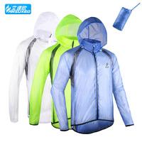 ultra light raincoat trench coat riding mountain bike split raincoat  wind and waterproof breathable Jacket coat jersey