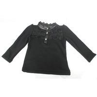 wholesale(5pcs/lot)-child girl lrs-06 winter flower thicken base shirt