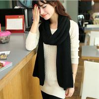 2014 Women New Fashion Knitted Solid Cashmere Cotton Unisex Autumn Winter Shawl Scarves Scarf Wraps Hijab Bufandas 1SC889