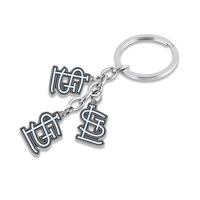 sport key chain fashion new enamel single-sided the St. Louis Cardinals pendant symbol keychains jewelry