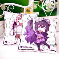 Collapse Gakuen 2 Anime Series 45*45cm Cushion Q Version Square Throw Pillow Christmas Gift Free Shipping