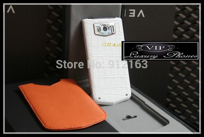 Good Quality Unlocked New Latest Updated Luxury Phones CONSTELLATION V Crocodile Skin Smartphone Limited Edition