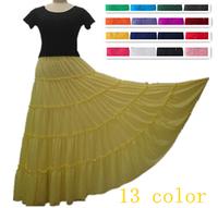 NEW 13 COLOR women's contrast color cascading ruffle Princess cake dress,plus size short sleeve long casual party dress