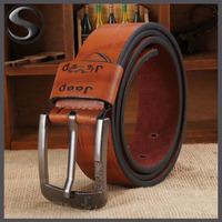 Lowest Price Promotion 2014 Hot Design Famous Brand Luxury Belts Women Men Belts Male Waist Strap PU Alloy Buckle Drop Shipping
