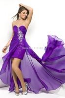 Hot Sexy Vestido De Noiva Prom Dresses Sweetheart Sleeveless Sheath Chiffon Crystal Ruched ZIpper Homecoming Gowns