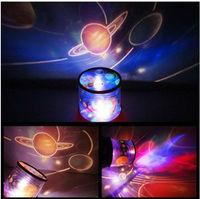 Novelty New Amazing Sky Universe Master Star light  LED Night Light Projector Rotate Lamp Moving Light universe music lamp