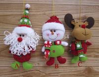 Free Shipping 10pcs christmas tree decoration New Year's toys decorate Xmas tree decorate decorations on the christmas tree36149