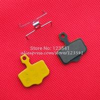 MTB Disc Brake Pads for AVID BB7 Elixir XX XO X0 (2Pairs, 4PCS) Sheet Metal Sintered Yellow Color