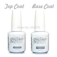 (1 Base Coat+1 Top Coat)DOMCCO The Best Foundation Base Coat Gel Polish + Diamond Top Coat Nail Gel For Professional Nail Art