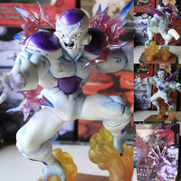 New 2014 hot action figure Japanese anime dragon ball Z  Freeza (FRIEZA) Battle Ver.16CM toy collectible figurine new year gift