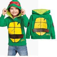 Korean Style worm patterns children's hoodies: fleece sweater Children clothing cartoon printed boys clothes hoody coats