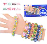 Child diy accessories beaded rope toy bracelet jewelry