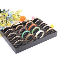 40 grids pluggable bracelet storage holder jewelry display Watch Organizers Box Case jade shop massive cash necessary