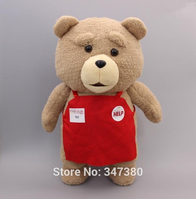 wholesale 45cm 3pcs/lot Teddy Bear Plush Toys Giant Stuffed Bear Plush Toy For Girl Friend/Children ,Christmas Gifts(China (Mainland))