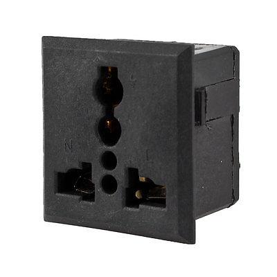 Home Office US AU UK Italy Socket to Plug Adapter Converter AC250V 13A(China (Mainland))